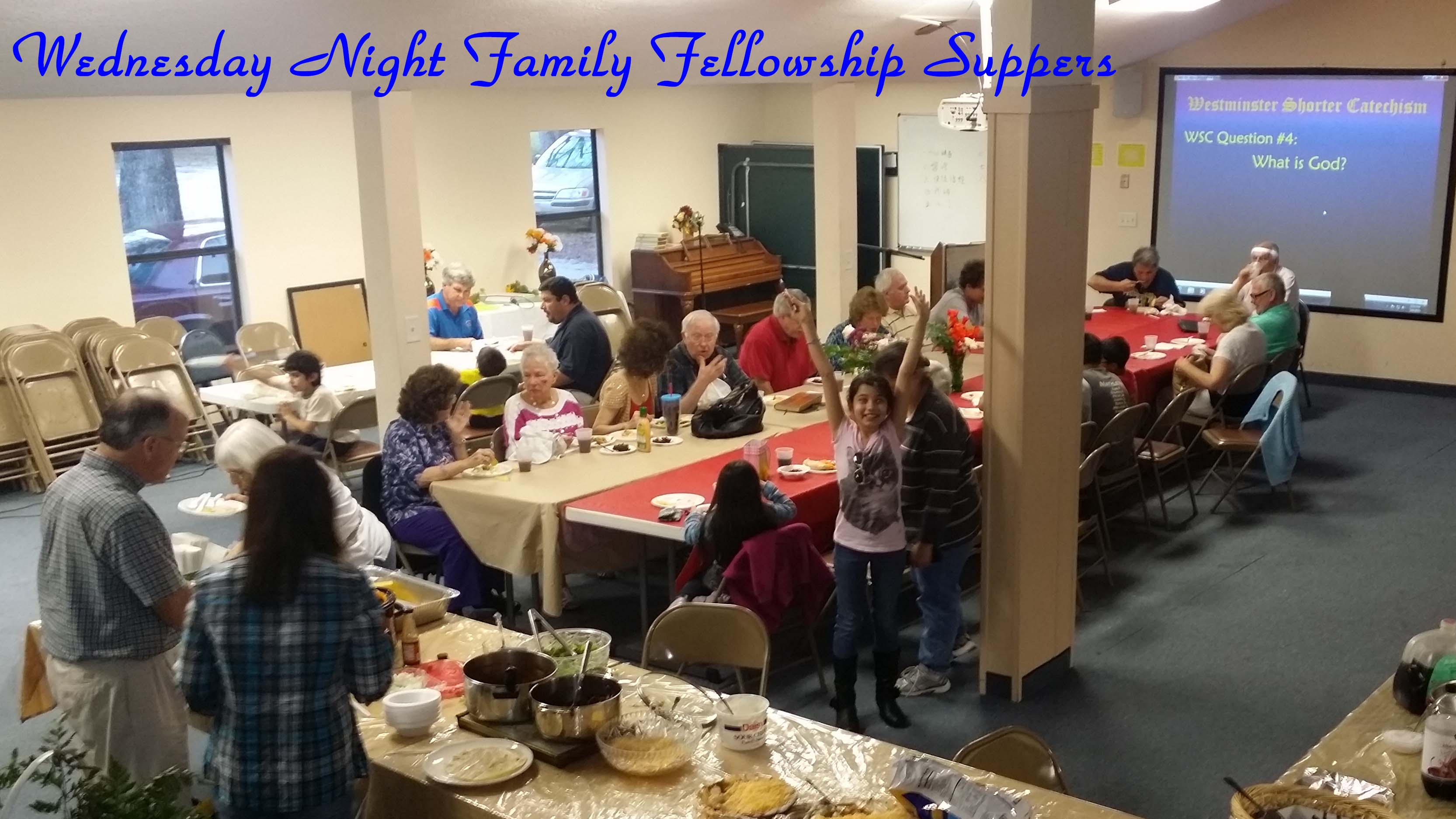 Wednesday Night Fellowship Dinner