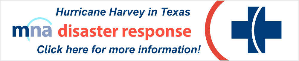 MNA Disaster Response to Harvey in Texas!